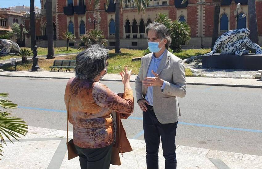 Reggio Calabria, visita del sindaco nelle case famiglia