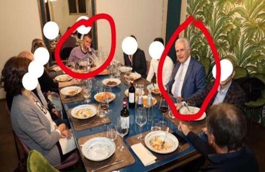 Eugenio Giani, nessuna cena solo dieci minuti nel locale per inaugurazione