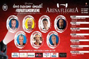 L'Estate all'Arena Flegrea, ecco il programma. Si parte l'11 luglio