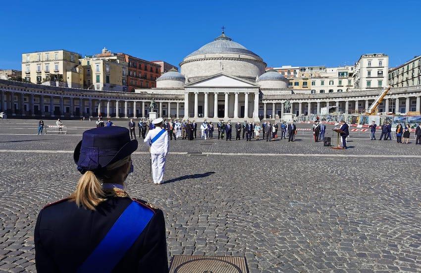 Oggi la Messa in piazza Plebiscito per ricordare le vittime del Covid 19. Misure speciali