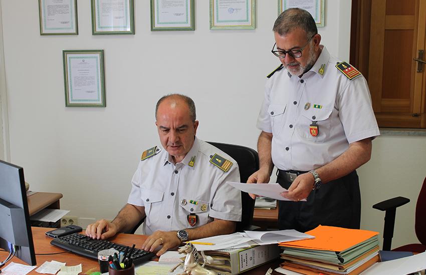 Caltagirone - consultazione documenti gdf