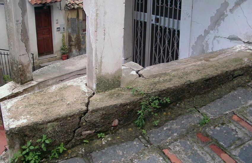 Dissesto idrogeologico, verifica nel centro storico di Casalvecchio Siculo