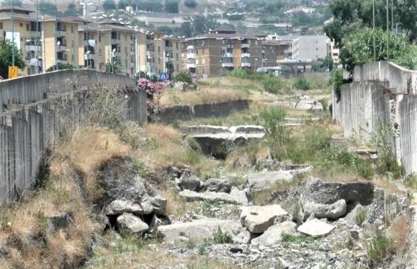 Dissesto idrogeologico, si interviene a Messina sul Torrente San Filippo