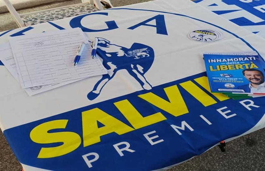 Lega Salvini Premier: presentazione dei candidati Roberto Biasci e Giulia Pacciardi