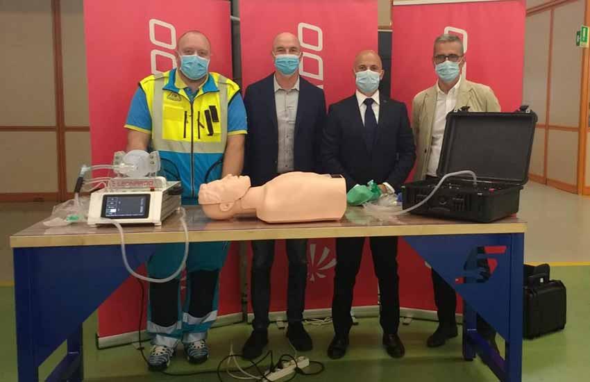 Nuovi prototipi di respiratori Made in Leonardo a Livorno