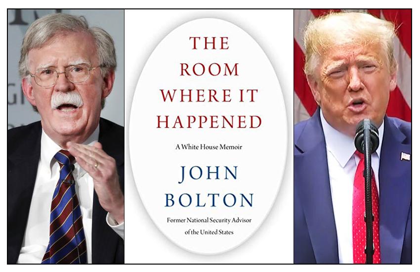 Trump cerca di bloccare l'uscita del libro dell'ex consigliere alla sicurezza Bolton