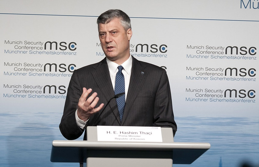 Presidente del Kosovo accusato di crimini di guerra