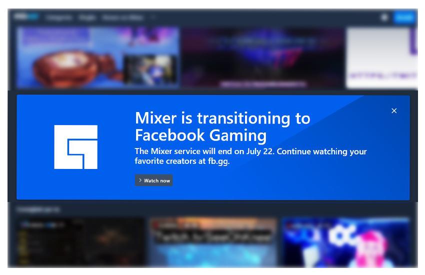 Microsoft vende Mixer a Facebook