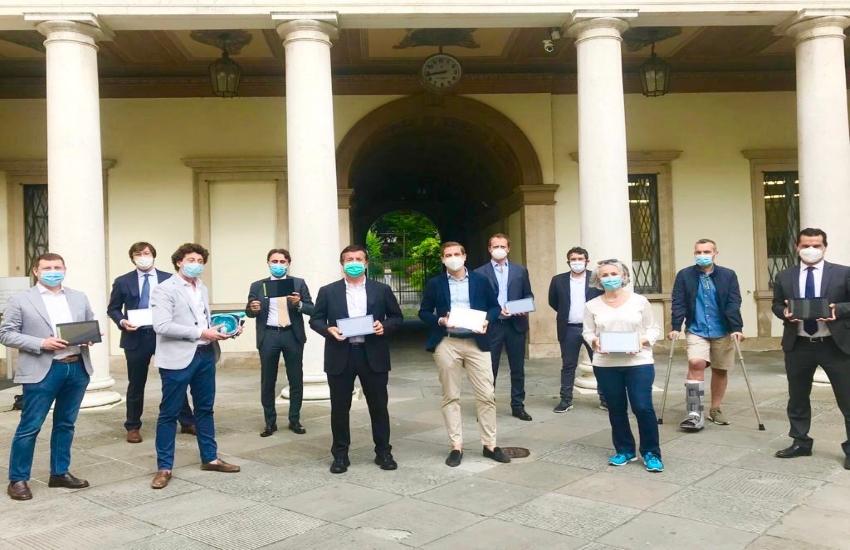 Bergamo, 100 tablet per promuovere la didattica a distanza