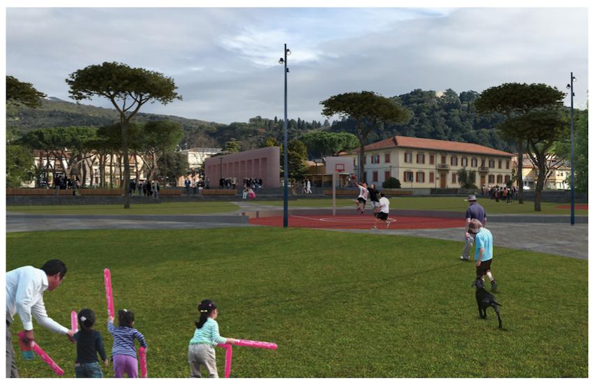 Montemurlo, nel parco arrivano il bio-lago, la fontana e aree per lo sport