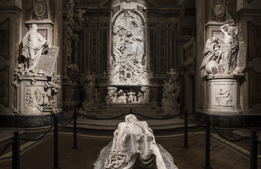 Napoli e il Cristo velato