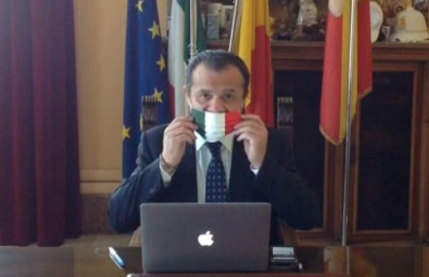 """Il sindaco De Luca: """"Chiedo la zona rossa per Messina"""""""