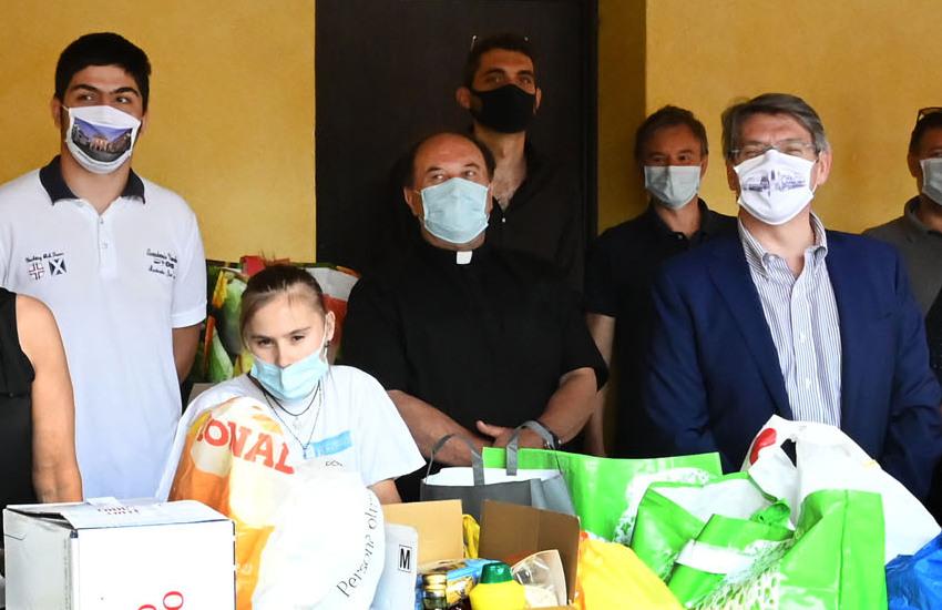 """Al quartiere Lamarmora chiude il progetto """"La spesa sospesa"""""""