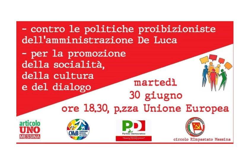 "Una ""agorà"" contro la Giunta De Luca: martedì in piazza a Messina"
