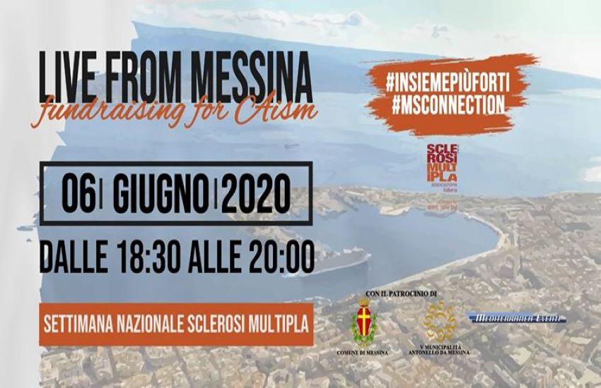 Oggi da Forte Ogliastri il party in streaming per AISM