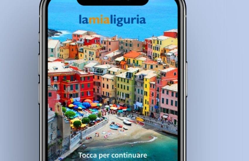"""Liguria, turismo e tecnologia, la nuova app  """"lamialiguria"""": dal 1 luglio per scoprire le offerte turistiche"""