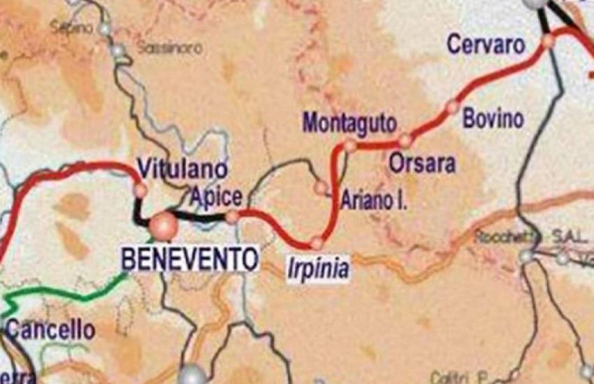 Alta capacità Napoli-Bari: entro il 2020 il cantiere della Orsara/Hirpinia. Incontro operativo a Grottaminarda