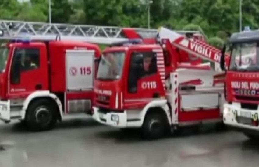 Volturara – Da Verona in vacanza in Alta Irpinia, ma la loro automobile prende fuoco lungo la SS 7 bis