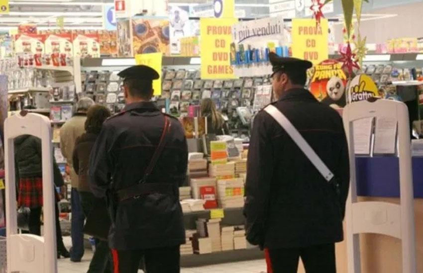 Atripalda, finisce nei guai un 40enne per un furto nel supermercato