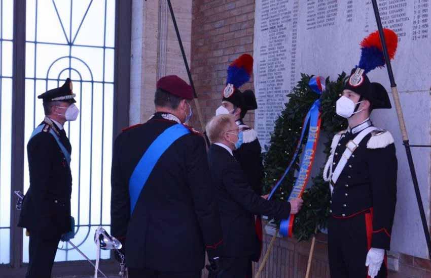 Celebrato in forma ridotta il 206° anniversario della Fondazione dell'Arma dei Carabinieri