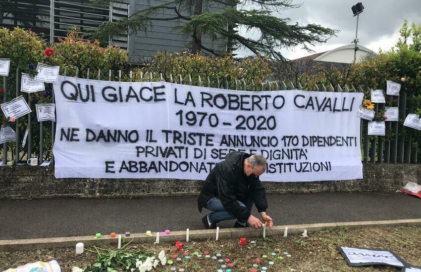 Firenze dice addio a Roberto Cavalli spa
