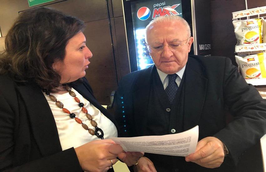 Regionali, è di nuovo De Luca contro Ciarambino