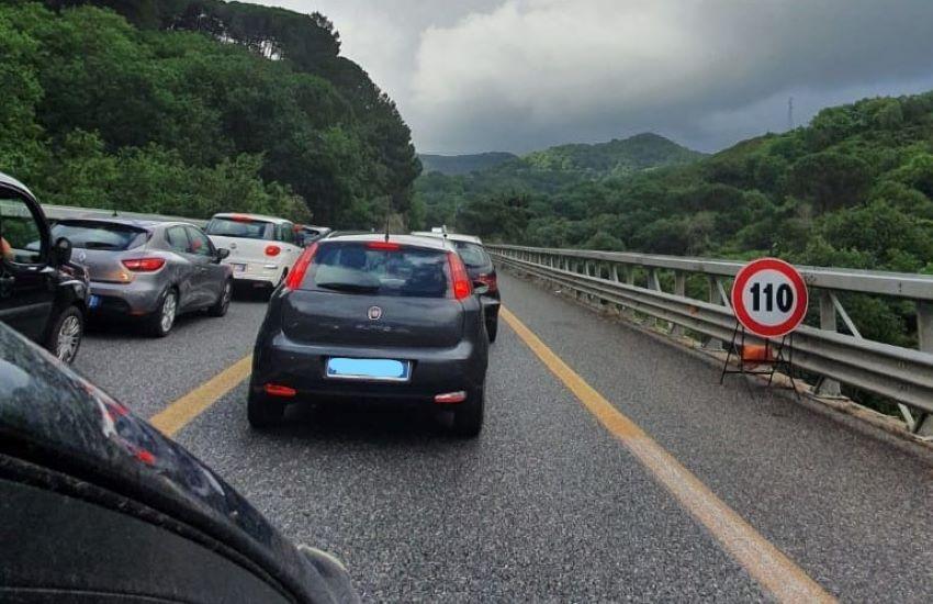Messina-Catania, interventi su barriere e cordoli in autostrada