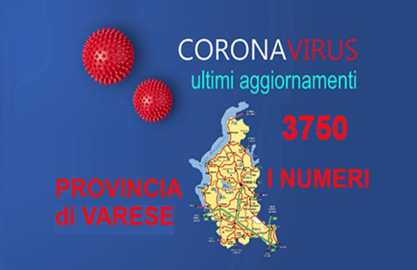 Coronavirus Varese, la situazione del 12 giugno