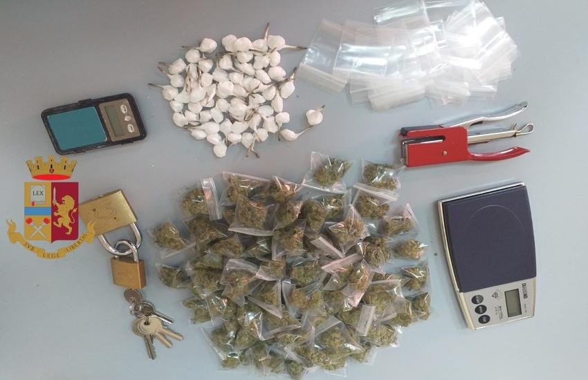 Secondigliano: arrestato un 20enne per droga