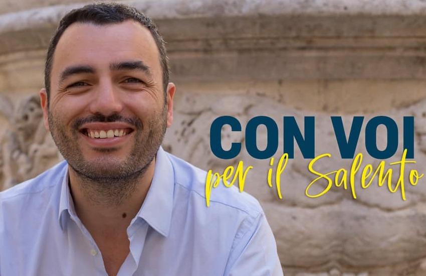 Elezioni regionali, il vicesindaco di Lecce Delli Noci si candida al fianco di Emiliano