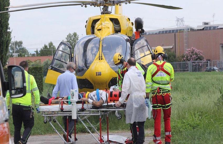 Bagni di Vinadio (CN), escursionista ferito: interviene elisoccorso