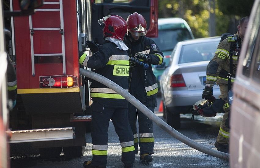 Benevento: trovata un'auto in fiamme nella notte