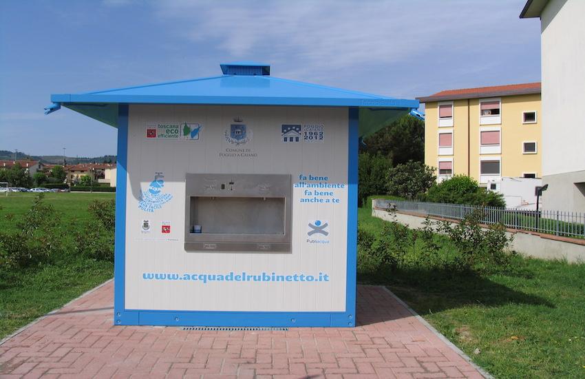 Montemurlo, gestione dell'acqua totalmente pubblica
