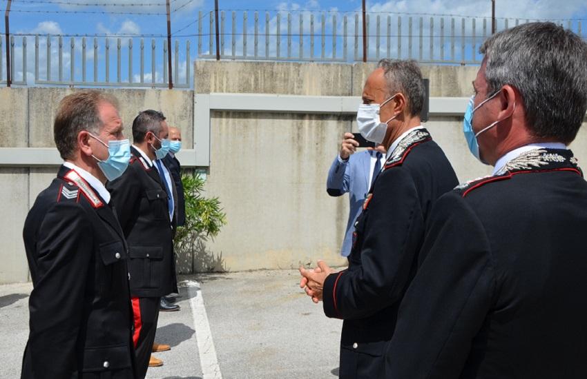 Comandante interregionale Ogaden in visita a L'Aquila: incontra anche il carabiniere ferito ad Avezzano