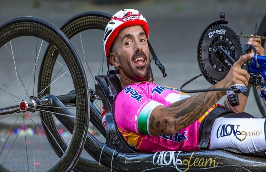 """Christian Giagnoni : """"Gli Handbiker sanno quando escono ma non se torneranno"""""""