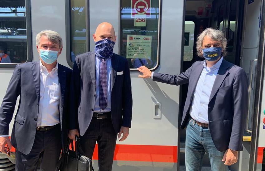 Monaco-Verona, ripartono i collegamenti ferroviari