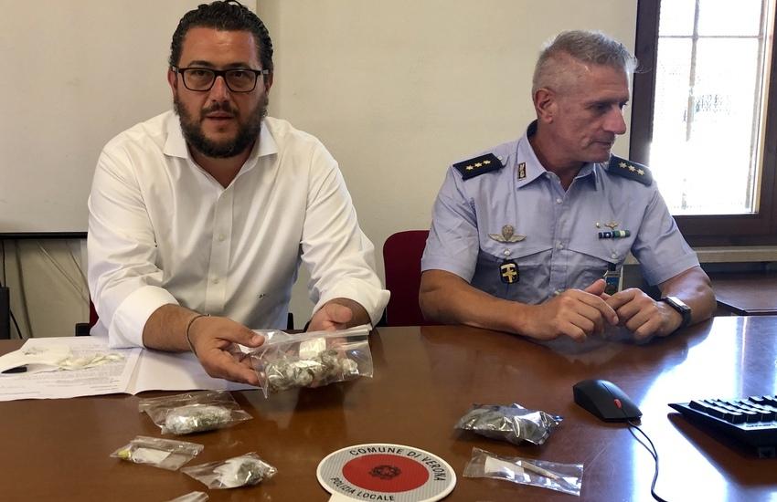 Verona: sequestrati 50 grammi di sostanze stupefacenti. Polizia: necessari controlli sui minorenni.