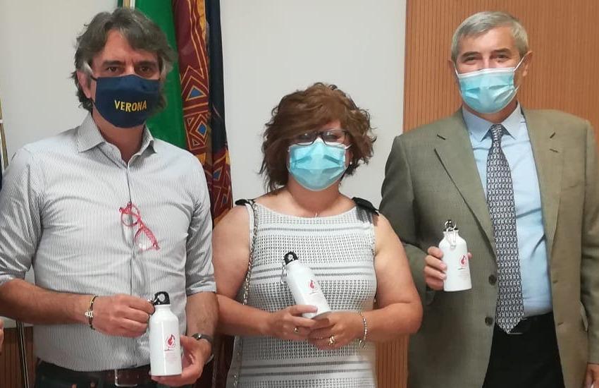Giornata mondiale dei donatori di sangue: Avis e Fidas regalano borracce a chi dona