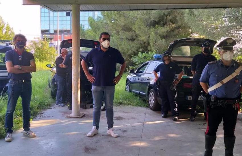 Verona: Polizia e Carabinieri sgomberano 6 abusivi da uno stabile in Via Francia