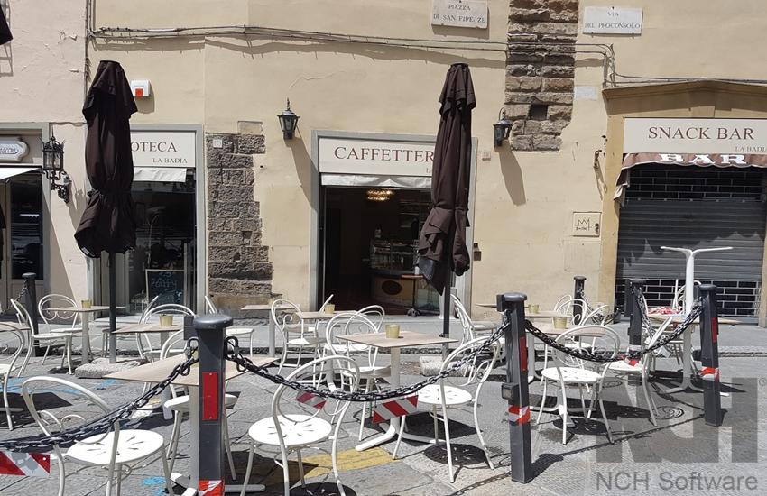 Per i commercianti di Piazza San Firenze la chiusura del Bargello  è devastante