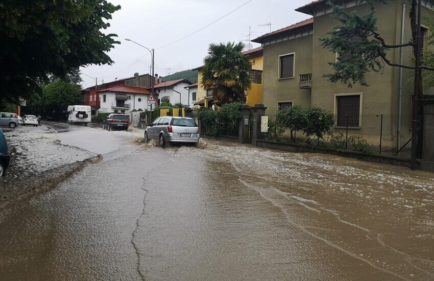 Il maltempo ha colpito diverse zone del Piemonte