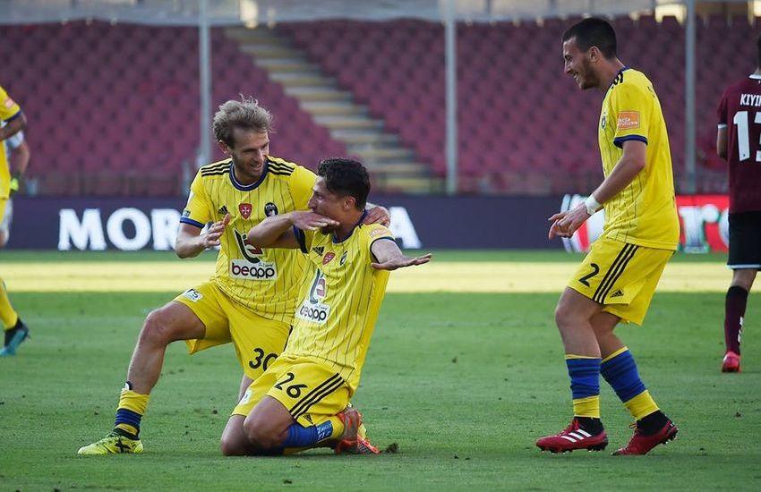 Serie B: buon pari, e qualche rimpianto, per il Pisa a Salerno