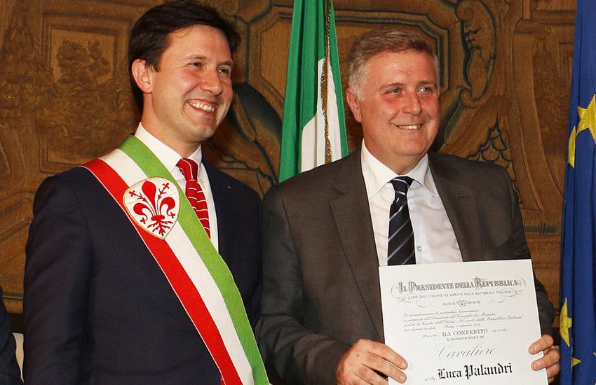 Scomparso Luca Palandri. Palazzo Vecchio in Lutto