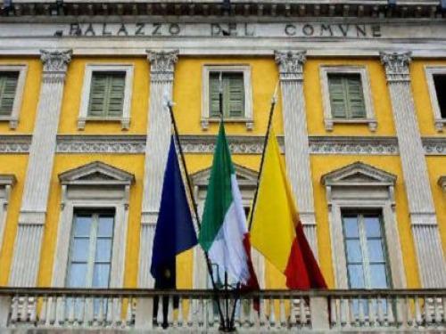 """Bergamo, riqualificazione parco: """"la parola ai cittadini""""   Foto: Palazzo Frizzoni, sede del Comune di Bergamo"""