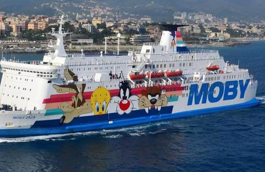 Moby, ripartono i collegamenti con i traghetti tra Genova e la Corsica