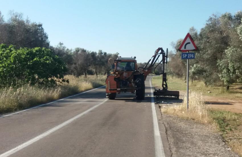 Manutenzione strade provinciali, aggiudicati i lavori