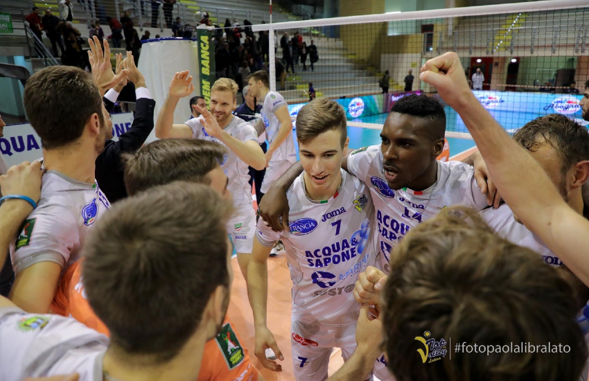 La Top Volley Cisterna conferma l'opposto Samuel Onwuelo