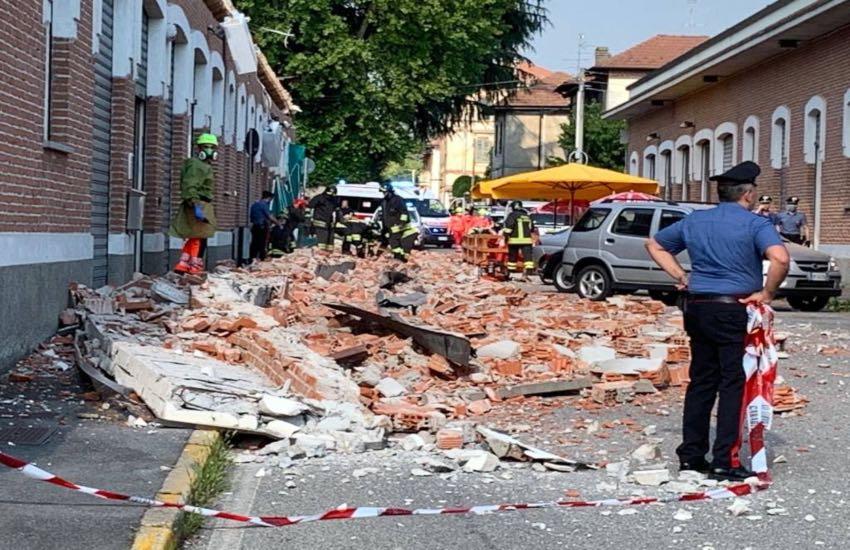 Tragedia ad Albizzate, crolla un tetto, morti mamma e due bambini