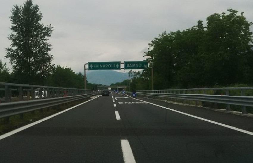 Monteforte Irpino, incidente sul lavoro lungo la A16: operaio 31enne ricoverato al Moscati