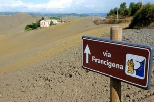 Il viaggio di Luca Magliozzi: da Roma per la Via Francigena